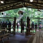 High Ropes Course Practice Area